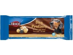 Dog Pralines, pamlsek s kuřecím masem, 100g