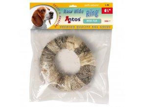 raw hide white plus fish ring 6 1 stuk 1556017386