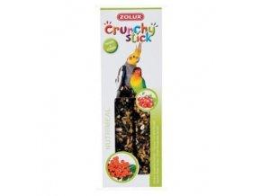 crunchy stick large parakeet rybiz jerabiny 2ks zolux