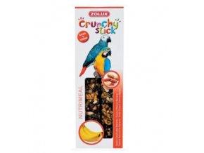 crunchy stick parrot buraky banan 2ks zolux