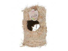 hracka hlodavec ehop tunel z kukur listu 20cm zolux