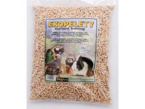 Ekopelety – podestýlka pro hlodavce 5kg
