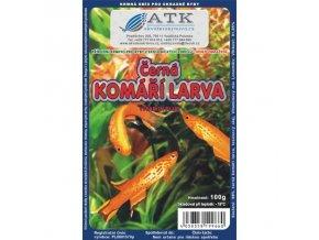 Komáří larvy černé 100g - BLISTR
