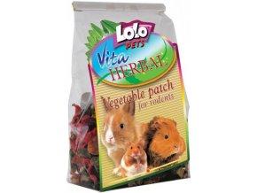 LOLOPets VITA HERBAL zeleninové plátky 100g