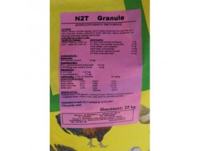 N2T granule - krmení nosnic během snášky 25kg