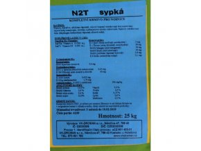 N2T sypká - krmení nosnic během snášky 25kg