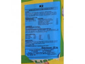 K2 sypká - 4.-9. týden 25kg