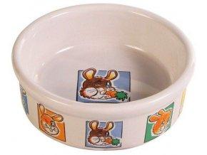 Porcelánová miska králík 300ml
