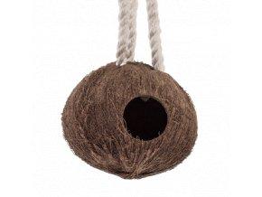 Kokosové hnízdo celé se závěsem