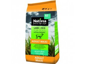 Nativia Adult Maxi - Lamb&Rice 15 kg