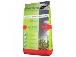 Nativia Active - Beef&Rice 15 kg