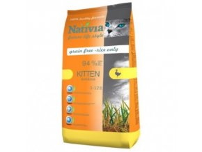 Nativia Kitten - Duck&Rice 1,5 kg