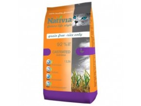 Nativia Castrated - Duck&Rice 1,5 kg