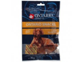 Snack ONTARIO Dog Dry Rabbit Fillet 70g