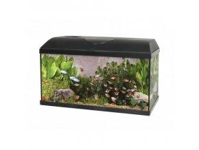 SET Akvárium PACIFIC 100x30x40 cm 120Litru - LED OSVĚTLENÍ