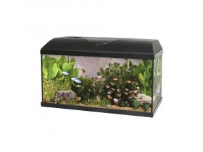 SET Akvárium PACIFIC 80x30x40 cm 96Litru