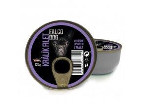 FALCO DOG králík filet 120g