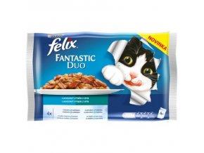 FELIX Fantastic DUO výběr z ryb 4x100g