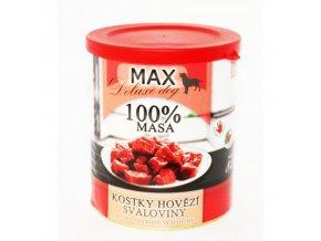 MAX kostky hovězí svaloviny 800 g