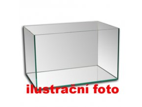 Akvárium lepené 40x20x20 cm obsah:16litrů sklo:3mm
