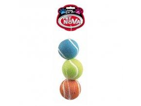 Tenisový míč 6cm (3ks v bal)