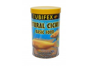 Natural cichlid flakes