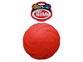 rub disc red 15cm etyk