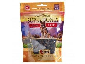 super bones konijn en spinazie 150 gr 1554980644