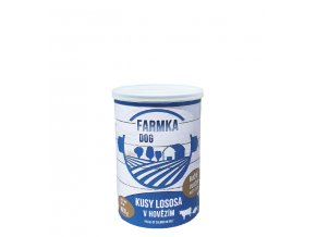 vyr 704FARMKA DOG se lososem 400g