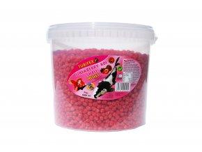 Strawsberry Koi pellet wiadro