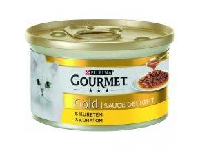 gourmet gold cat konzerva sauce delight kureci