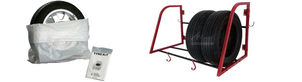 Obaly a držáky na pneumatiky
