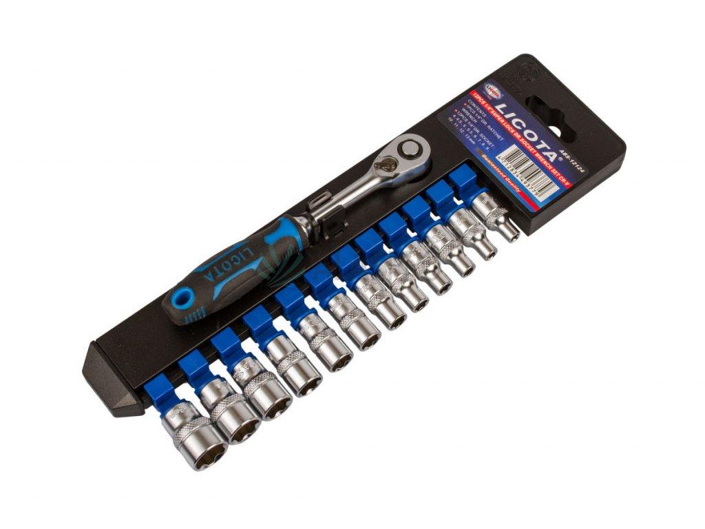 """Sada vnitřních nástrčných klíčů 1/4"""", 12 ks - LIABS12124"""