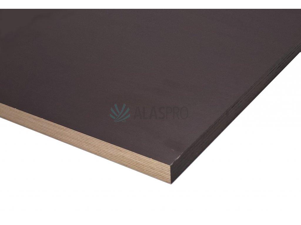Překližka tabule hnědá protiskluz F/W 2500x1250 tl.15mm bříza