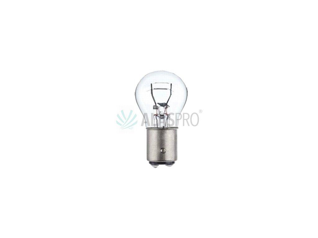 Žárovka 24V P21/5W, patice BaY15d, dvouvláknová