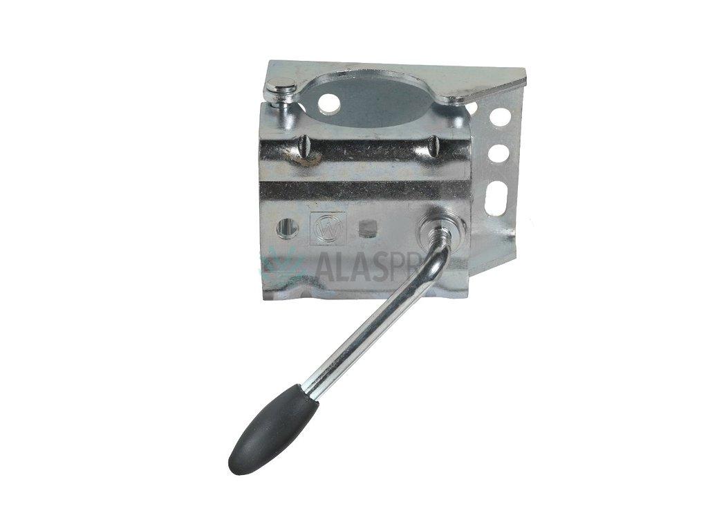 Držák opěrného kolečka 60 mm KLE/60 rozevírací