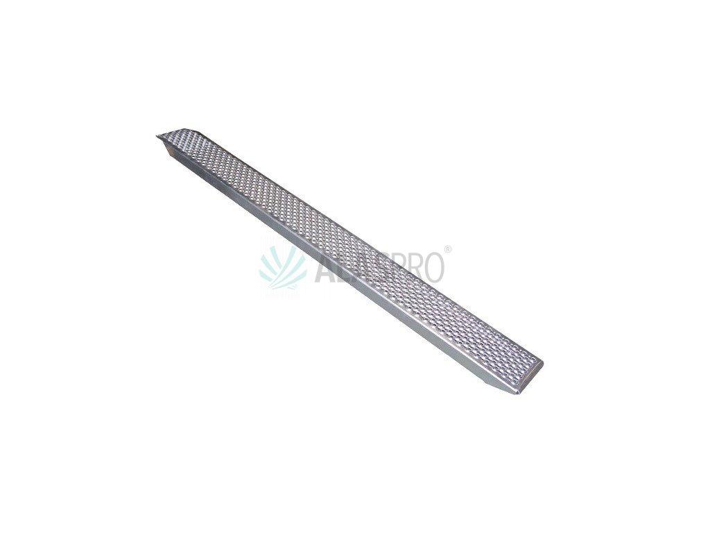 Nájezd hliníkový 1500/200 mm rovný (400 kg na pár)
