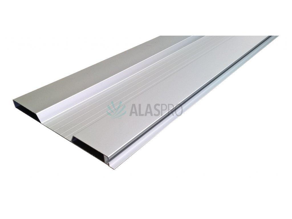Bočnice hliníková elox 400 mm/A