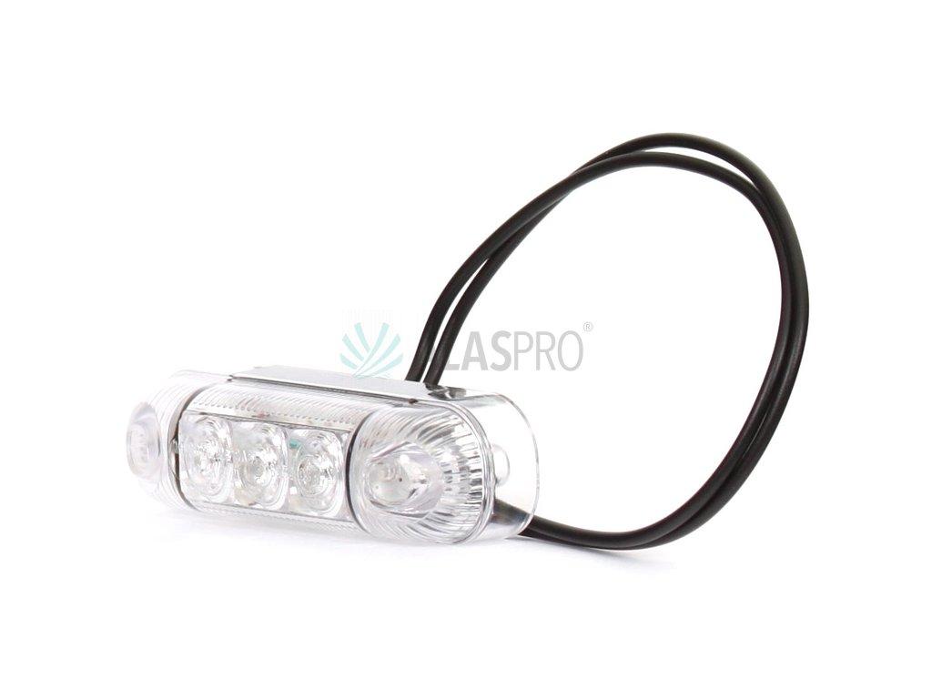 Svítilna přední obrysová LED WAS W61/283, 12-24V, 3 diody