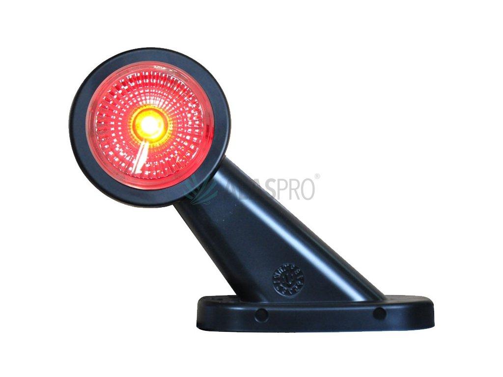 Svítilna doplňková obrysová LED WAS W21.7RF 299BC, 12-24V, levá 108 mm