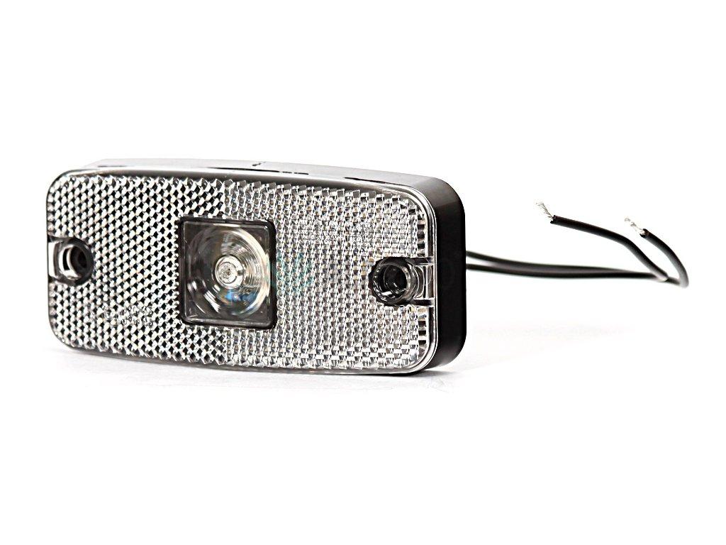 Svítilna přední obrysová LED WAS 225w46, 12-24V, s odrazkou