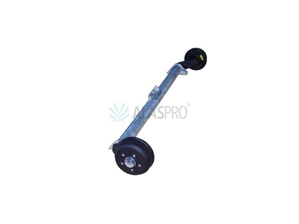 Náprava KNOTT GB 13 (1350 kg) b=1700mm 200x50 (112x5)