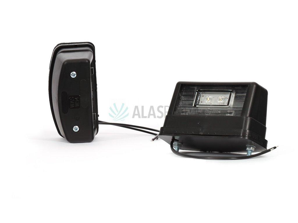 Osvětlení SPZ (registrační značky) LED WAS W54/246 (12-24V)