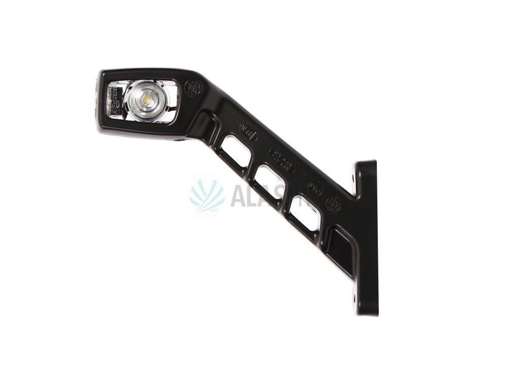 Svítilna doplňková obrysová LED WAS 239L, 12-24V, levá, 187 mm