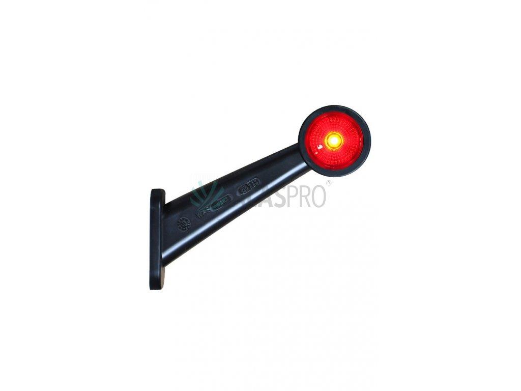 Svítilna doplňková obrysová LED WAS 295BC, 12-24V, pravá 186 mm