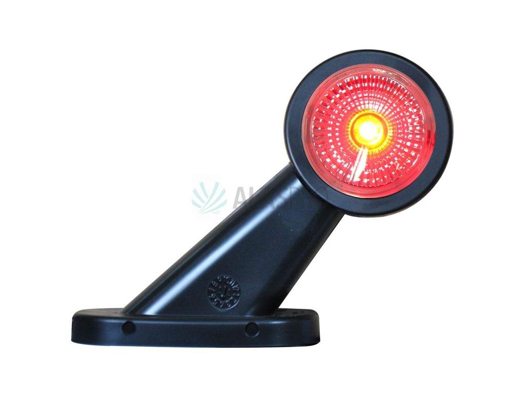 Svítilna doplňková obrysová LED WAS W21.7RF 299BC, 12-24V, pravá 108 mm