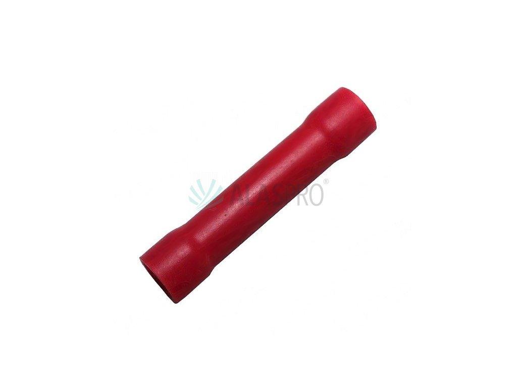 Konektor kruhový izolovaný (trubička) 0,25-1,5 červený