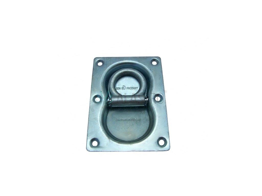 Kotevní miska 145x105 mm (zápustná, 1000 daN)