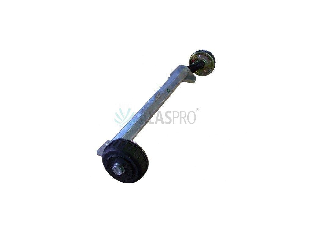 Náprava AL-KO Plus B 1800-9 (1800 kg) a=1400 mm, 112x5