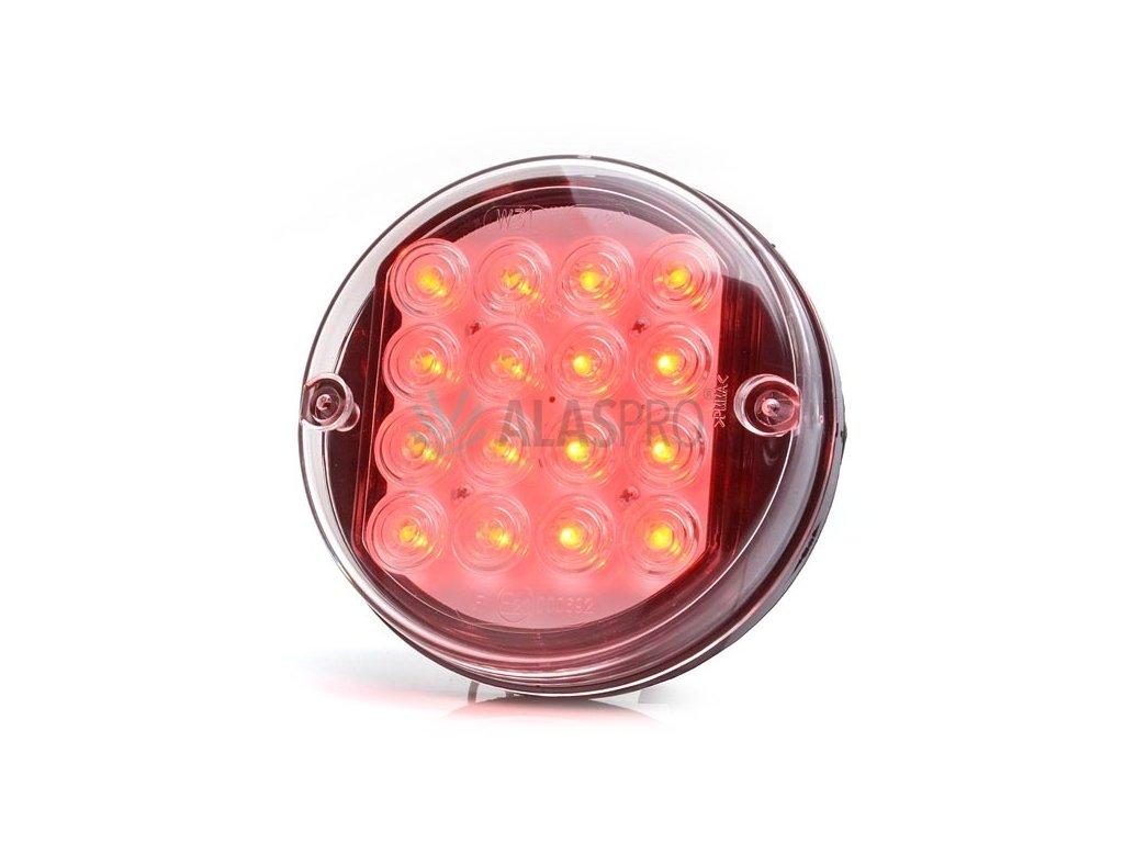 Svítilna mlhová zadní LED WAS W31, 24V, kulatá